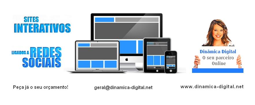Dinâmica Digital de Sílvia Martins - Construção de Web Sites e Lojas