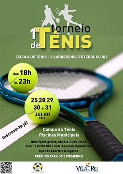 1º Torneio de Ténis de Vila de Rei começa já dia 25