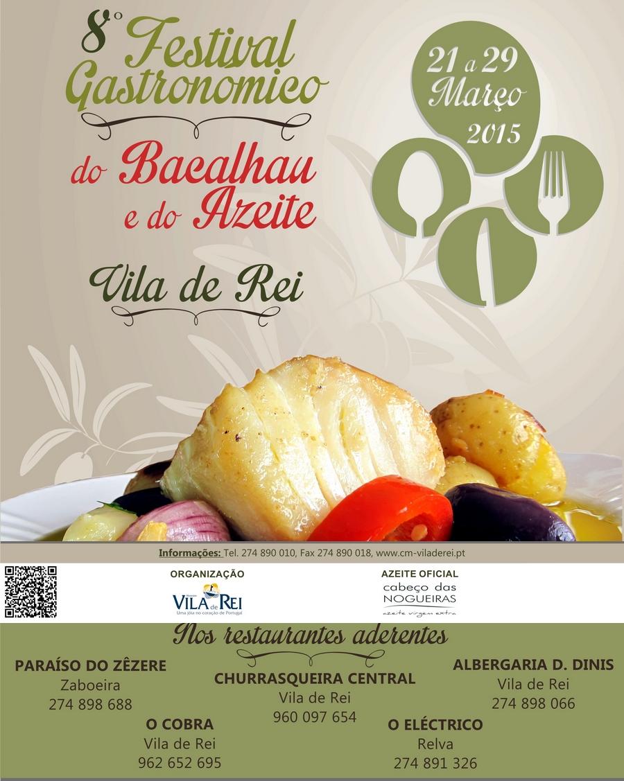 Vila de Rei | Festival Gastronómico do Bacalhau e do Azeite de regresso!