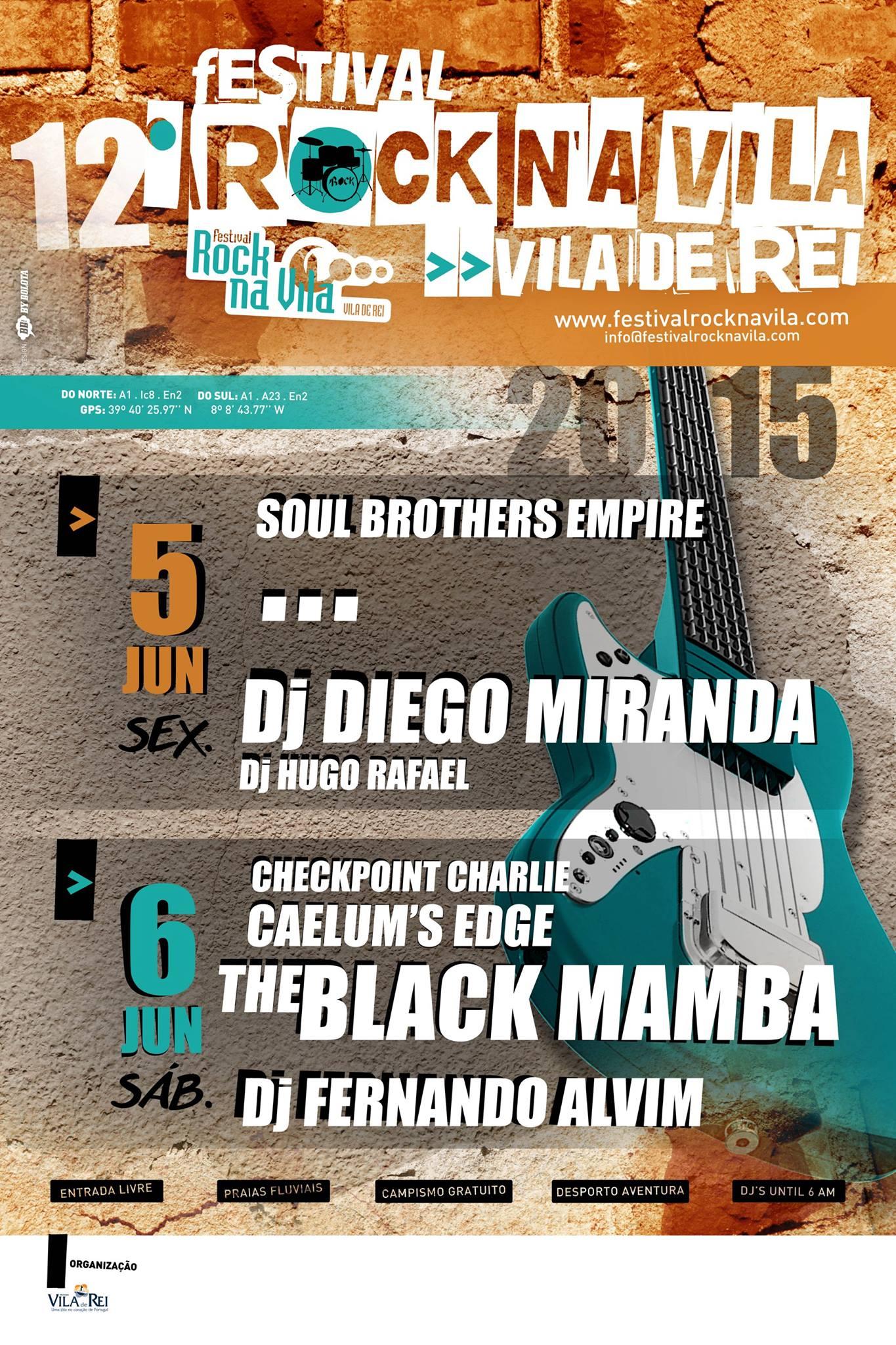 Vila de Rei | 12º Rock na Vila: conhece o cabeça-de-cartaz da segunda noite do Festival?