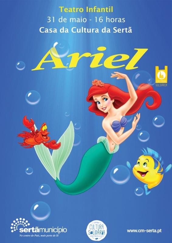 "Sertã | A Casa da Cultura recebe a visita de  Teatro ""Ariel"""
