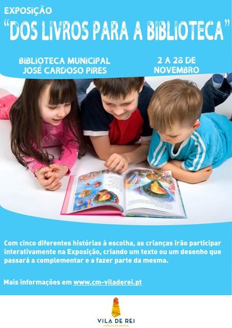 Dos Livros para a Biblioteca: Exposição Infantil Interativa em Vila de Rei