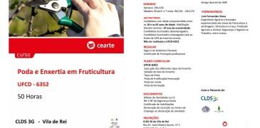 """Vila de Rei recebe formação """"Poda e Enxertia em Fruticultura"""""""