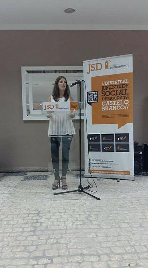 Daniela Dias José é a nova Presidente da JSD de Proença-a-Nova