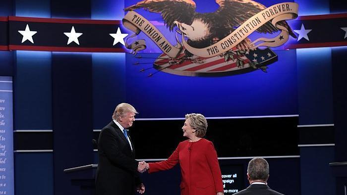 Debate entre Hillary Clinton e Donald Trump exibe preparação mais cuidada de Hillary