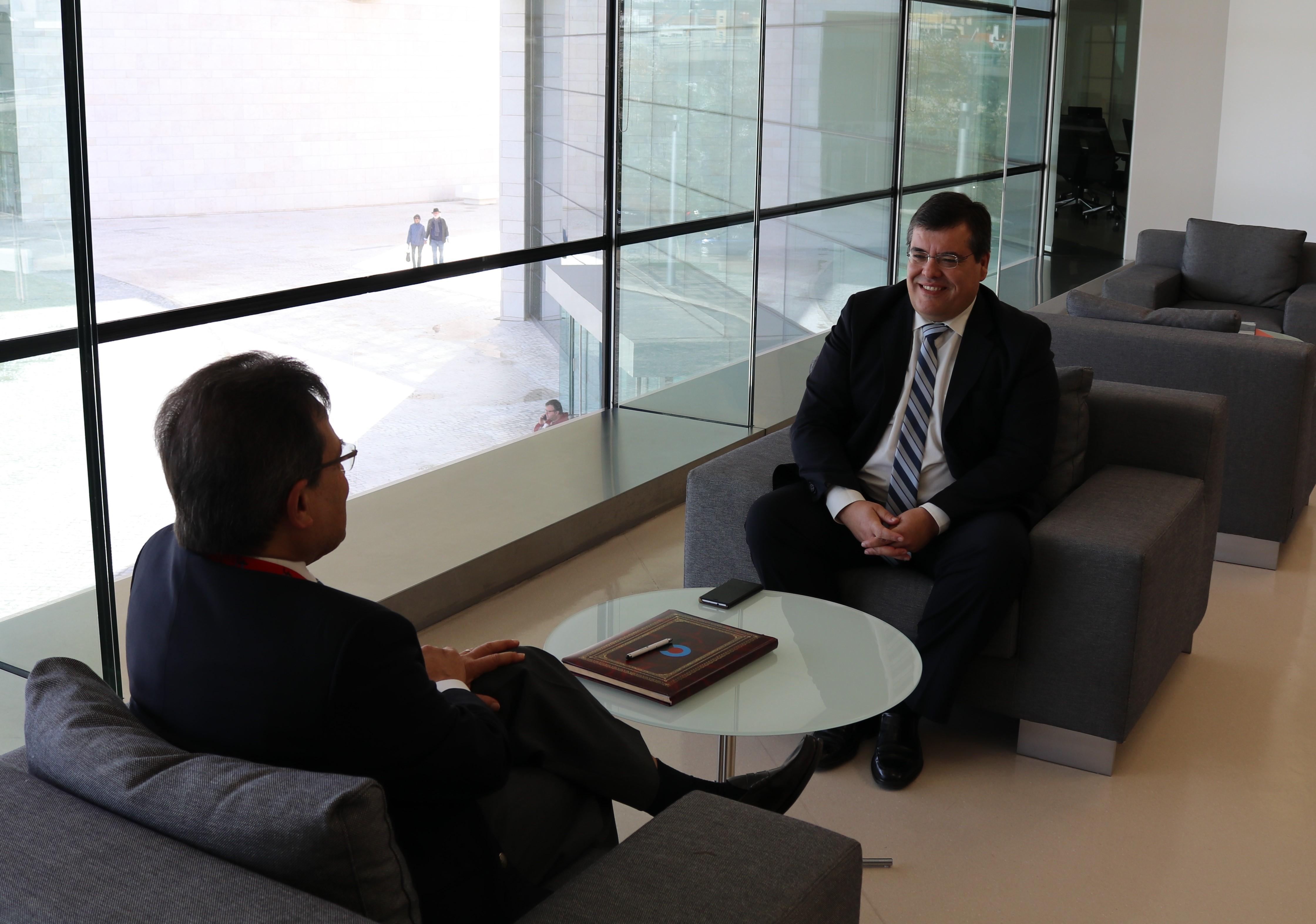 Ricardo Aires convidado da Fundação Champalimaud