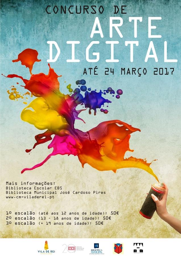 III Concurso de Arte Digital de Vila de Rei