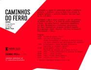 Programa cultural e turístico Caminhos, que terá lugar no dia 6 de Abril.