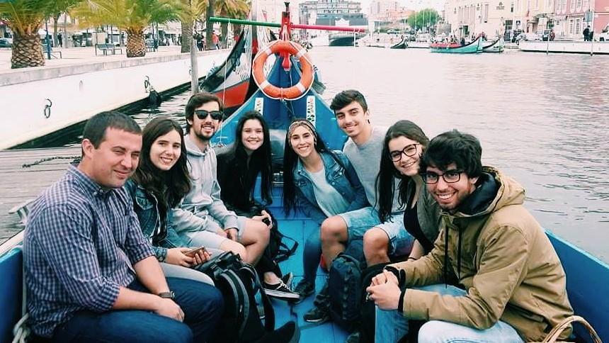 "Alunos da ""ETPS"" realizam Intrarail "" Á descoberta de Portugal"""