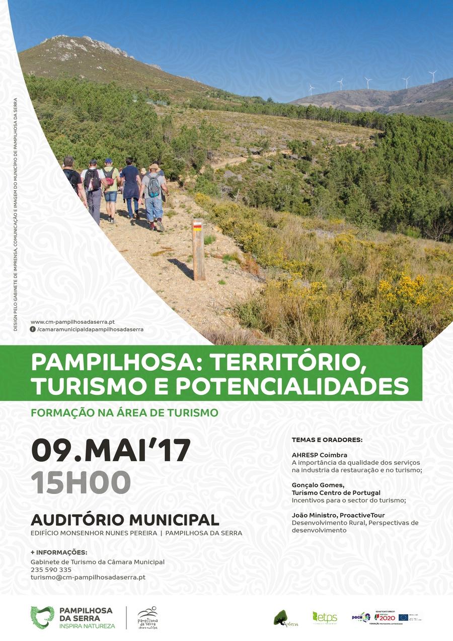 Formação em Turismo: Pampilhosa, Turismo, Território e Potencialidades – 9 Maio 2017 (15 horas)
