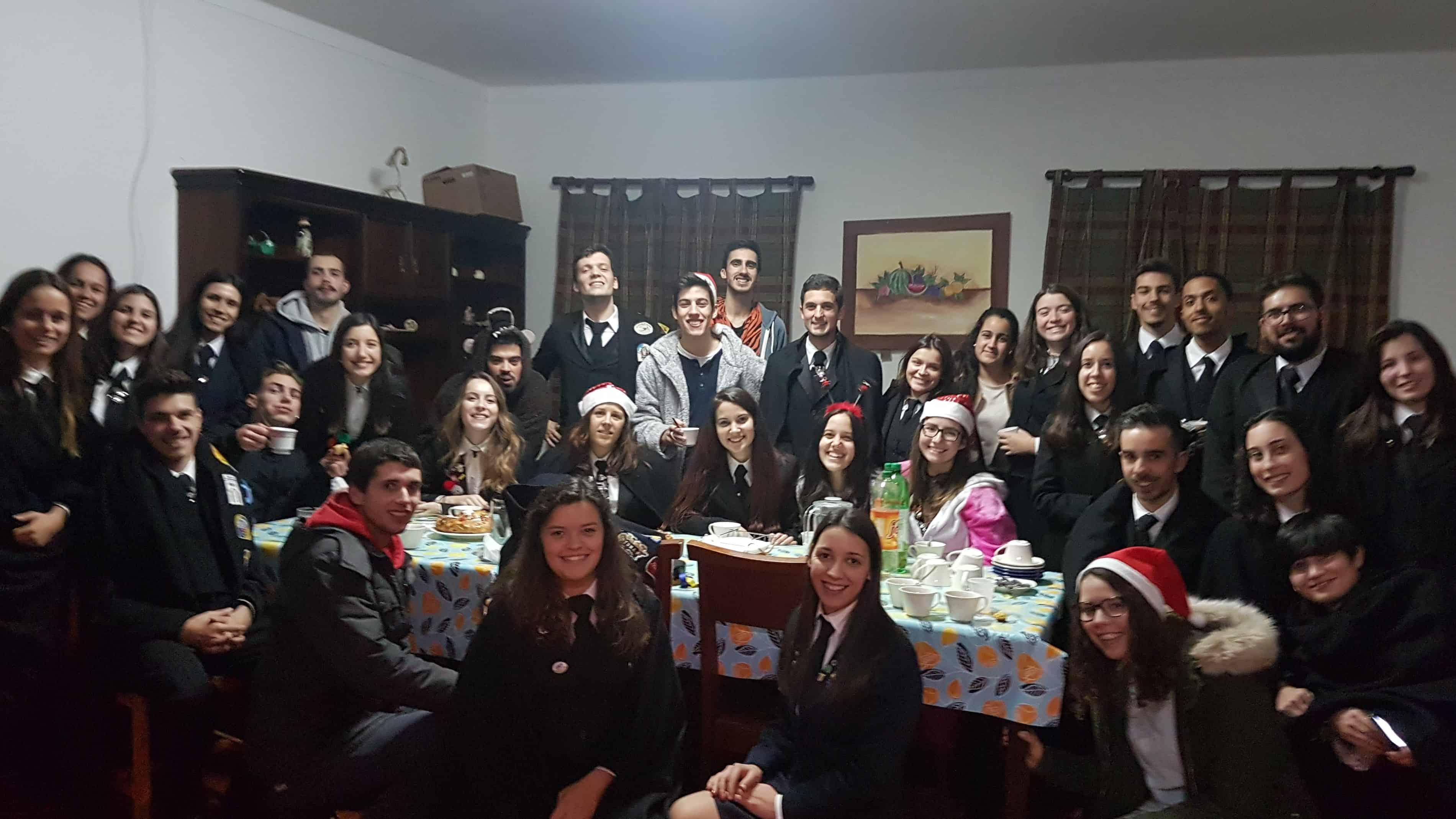 Tuna de Vila de Rei celebrou Natal com Lares e IPSSs do Concelho
