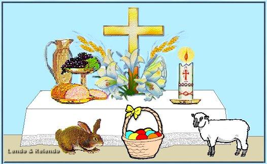 Votos de uma Santa Páscoa