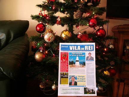 Equipa do Jornal de Vila de Rei deseja Bom Natal a todos os Vilarregenses